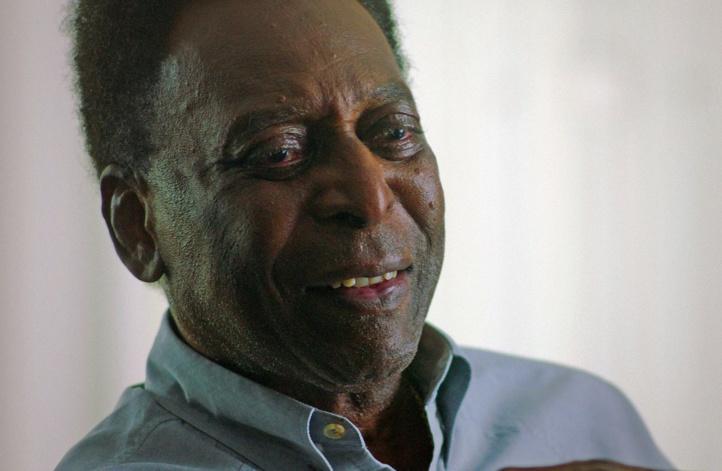 Le roi Pelé hospitalisé