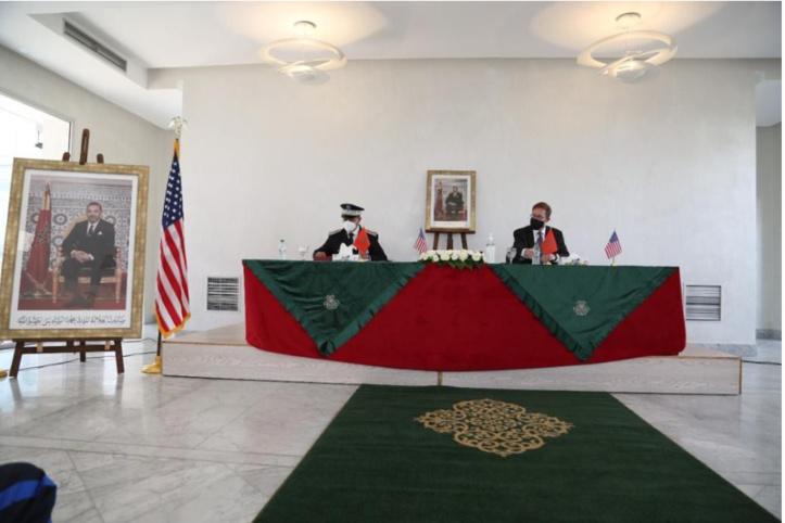 L'Institut Royal de Police : cérémonie de remise d'une subvention américaine