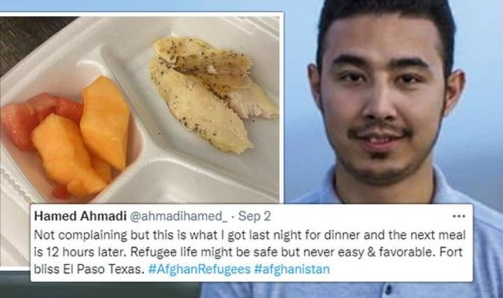 Les Afghans crient famine aux Etats-Unis