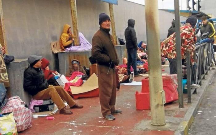 Sebta : Désespérés, les Marocains expriment leur colère