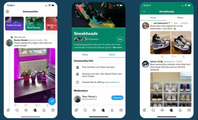 Réseaux sociaux : Twitter teste la nouvelle fonctionnalité « Communities »