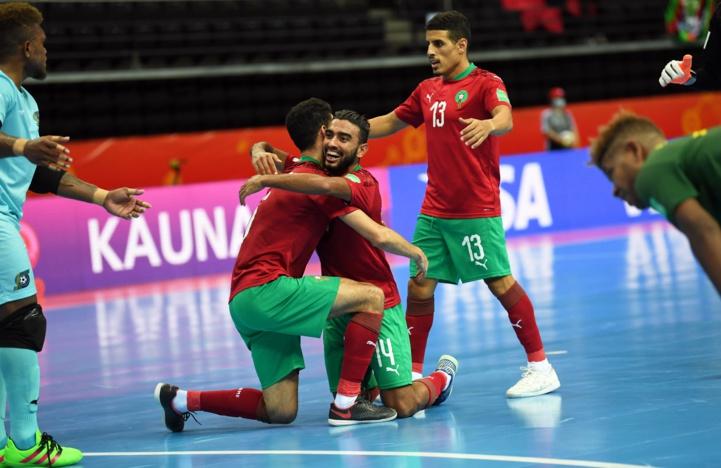 Coupe du monde de futsal (1ère journée/Groupe C) : L'équipe nationale surclasse les Iles Salomon (6-0)