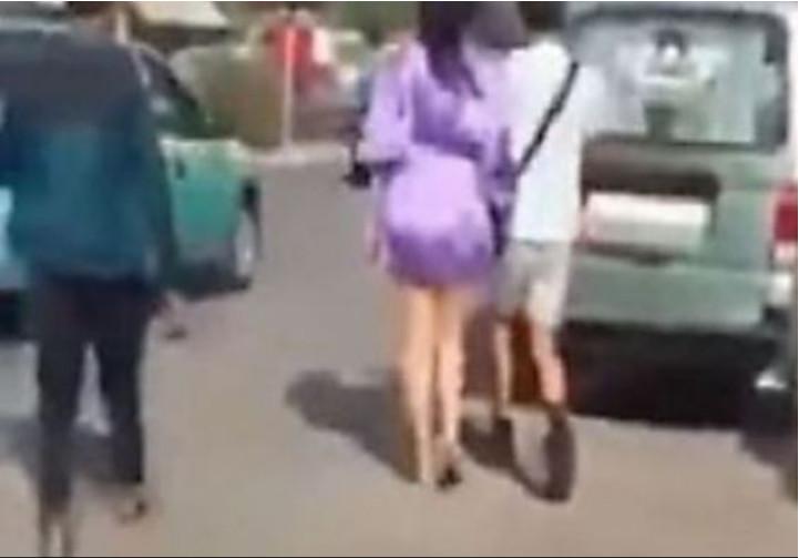 Capture d'écran de la vidéo.