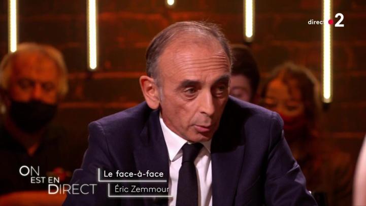 S'il est élu président, Eric Zemmour interdira les prénoms arabo-musulmans