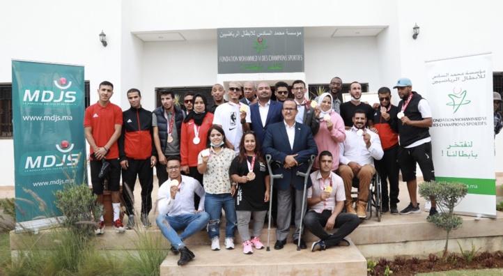 JO et Jeux paralympiques : La Fondation Mohammed VI des champions sportifs rend hommage aux athlètes médaillés