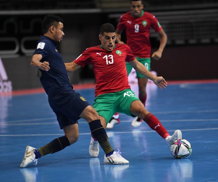 Coupe du monde de futsal (2ème journée/Groupe C) : Le Maroc et la Thaïlande font match nul