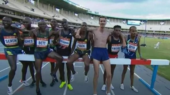 Meeting de Kip Keino d'athlétisme: Soufiane El Bakkali remporte le 3.000m steeple