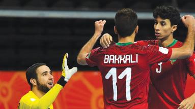 Les Lions de l'Atlas à la Coupe du monde de Futsal enflamment la Toile