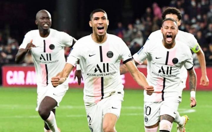 Ligue 1 :  Un doublé victorieux de Hakimi face à Metz !