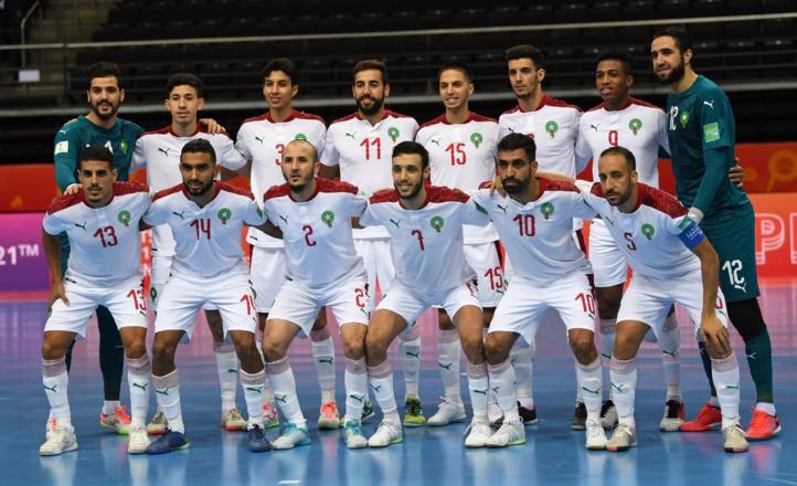 Mondial Futsal 2021: Ce dimanche, le Maroc face au Brésil