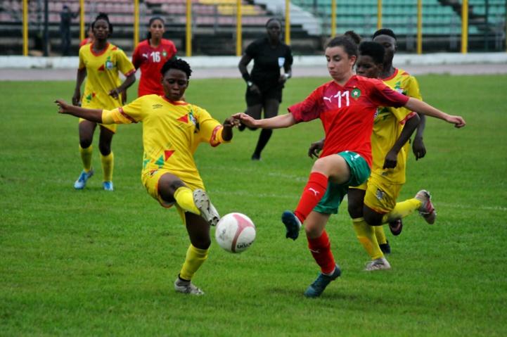 Coupe du monde féminine U20 : Reprise cet après-midi du reste du temps du jeu du match Bénin-Maroc interrompu hier