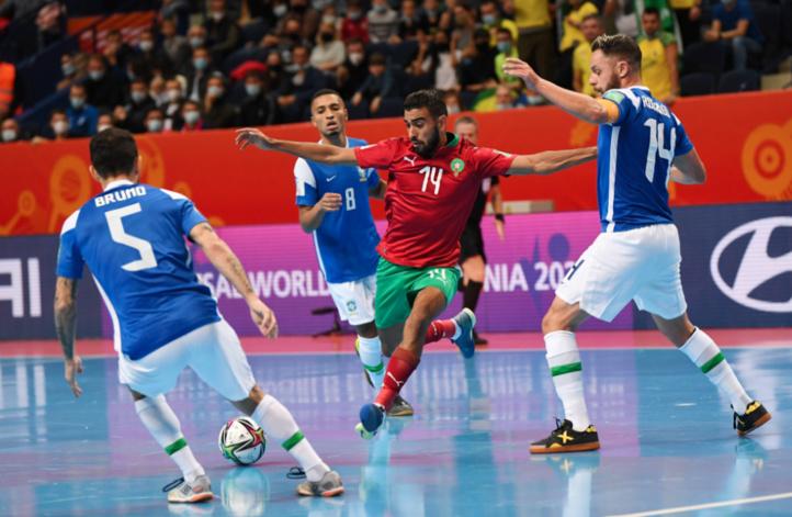 """Coupe du monde de futsal (Lituanie 2021): """"Le Maroc a bousculé l'équipe la plus titrée de la compétition"""", selon la FIFA"""