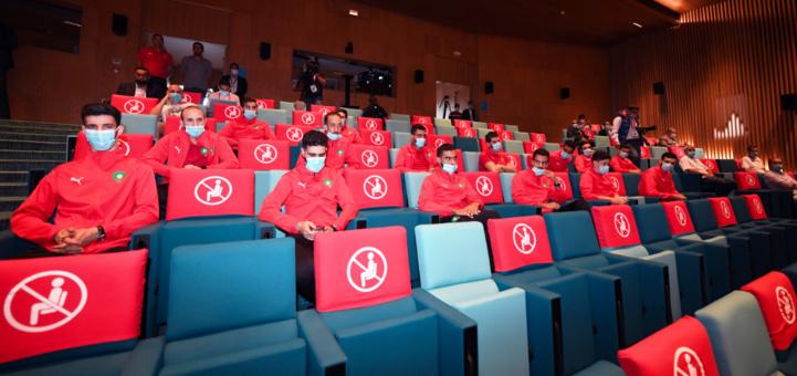 Futsal : Ce mercredi matin, la sélection marocaine était à l'honneur au Complexe de football Mohammed VI