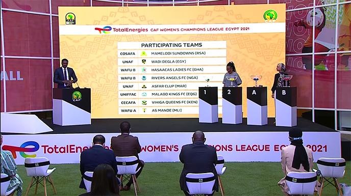 Ligue des Champions féminine de la CAF : L'AS FAR dans un groupe très difficile