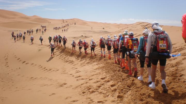 Marathon des Sables : 700 coureurs à l'assaut de 250 km dans le désert marocain