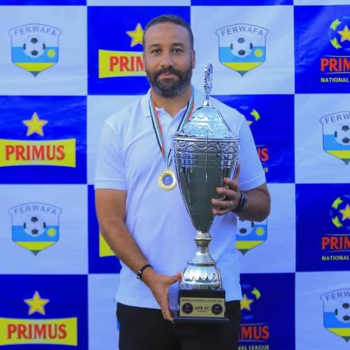 Erradi Mohamed Adil, un champion de ligue et coupe à Rwanda