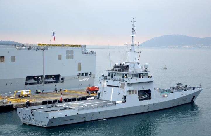 L'Espagne s'apprête à construire le patrouilleur commandé par le Maroc