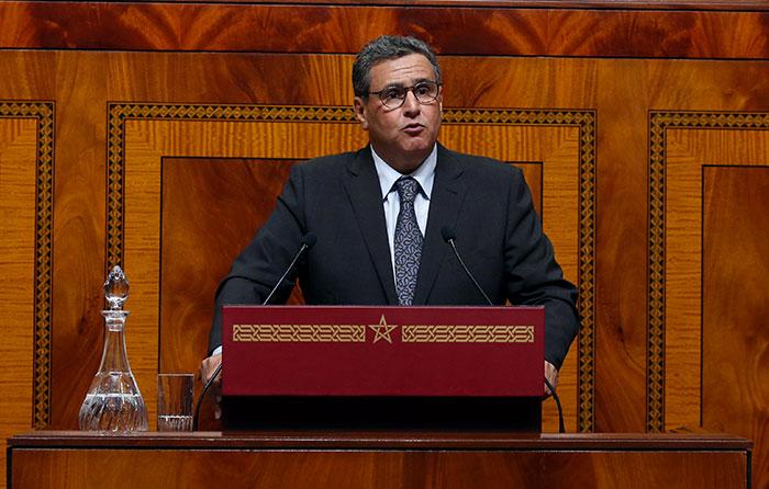 Aziz Akhannouch présente le programme gouvernemental lundi