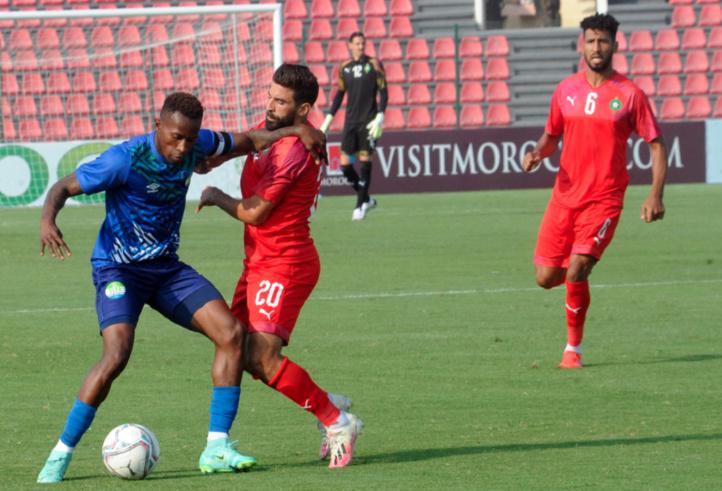 Matches préparatoires de l'équipe nationale A' : Le Maroc difficile vainqueur de la Sierra Leone (2-1)
