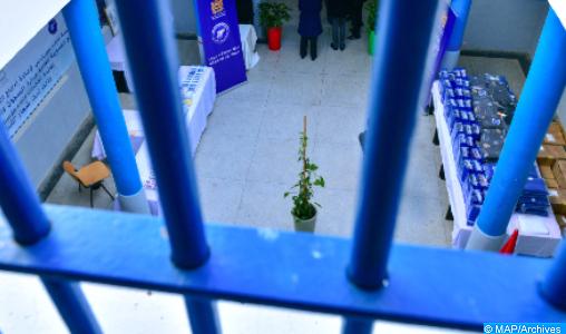 DGAPR : 92 % de la population carcérale vaccinée