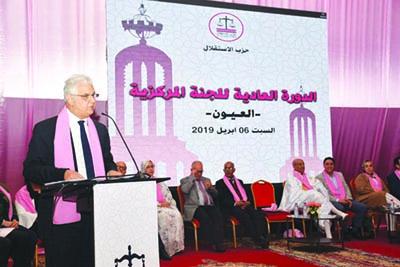 Nizar Baraka : La solution à la question du Sahara réside dans la consécration démocratique et l'ancrage des décisions locales