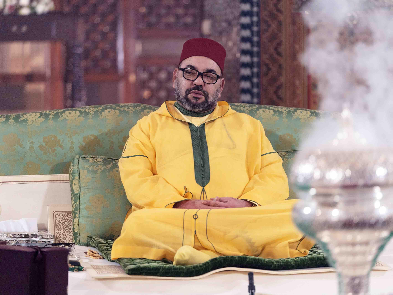 SM Le Roi préside une veillée religieuse à Marrakech