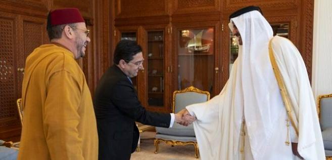 L'Emir du Qatar reçoit El Himma