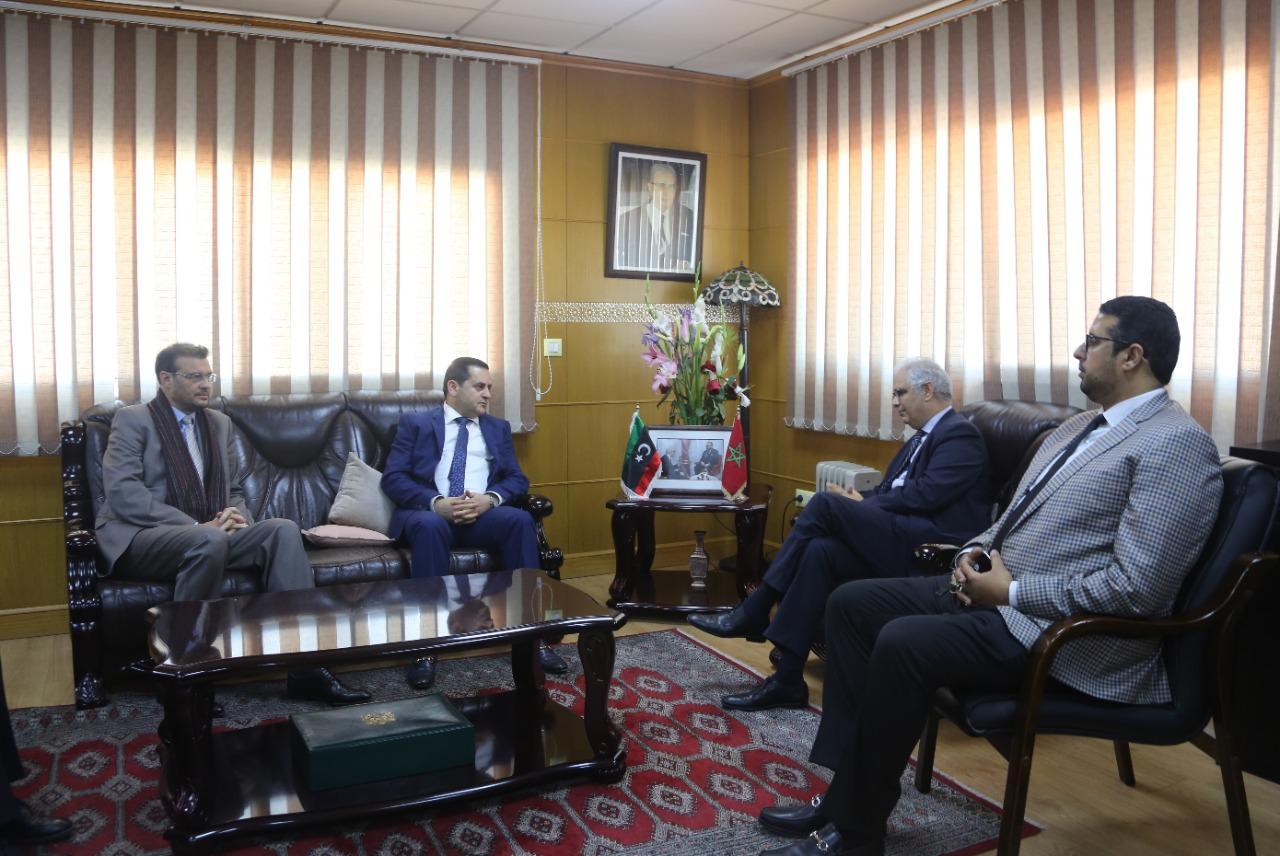 Crise libyenne, Nizar Baraka reçoit Abdelhadi Lahouij