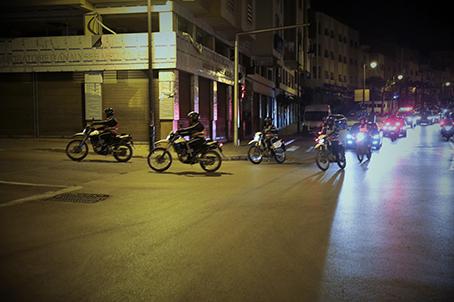 Tanger sous contrôle policier