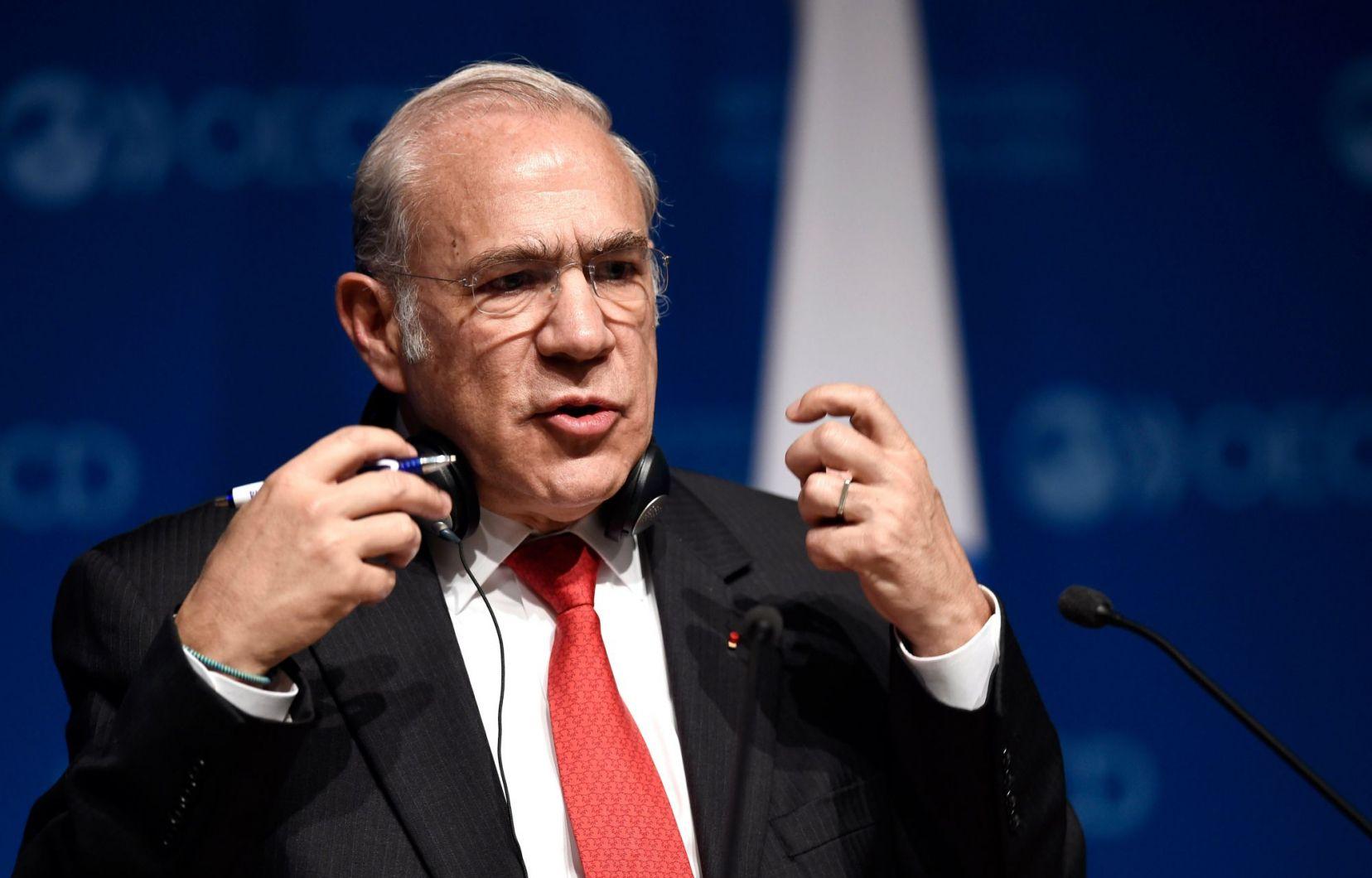 Ángel Gurría, le SG de l'OCDE, plus pessimiste que jamais