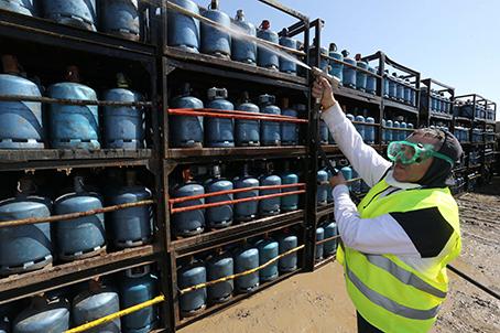 Opération de désinfection et de stérilisation d'un entrepôt de bouteilles de gaz à Salé