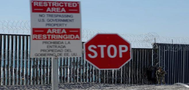 Soldats américains en renfort à la frontière mexicaine
