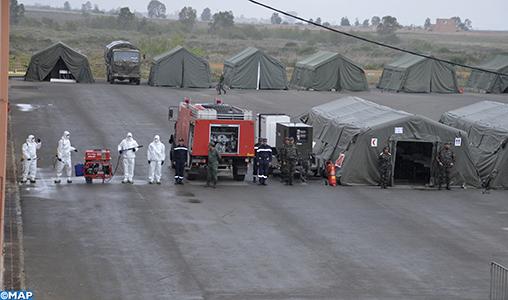 L'élite de la médecine militaire déployée