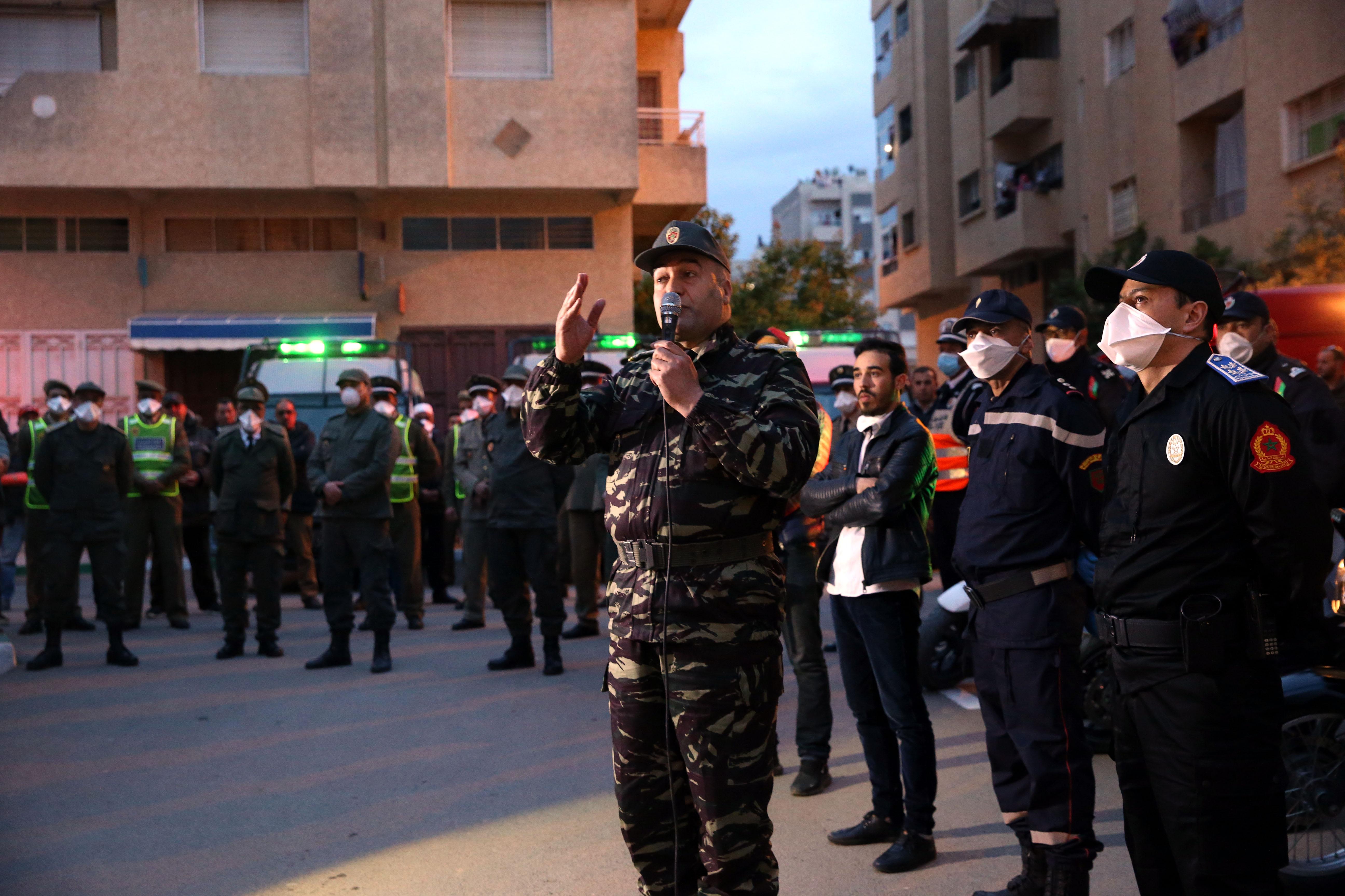 Mobilisation sans faille des forces de l'ordre