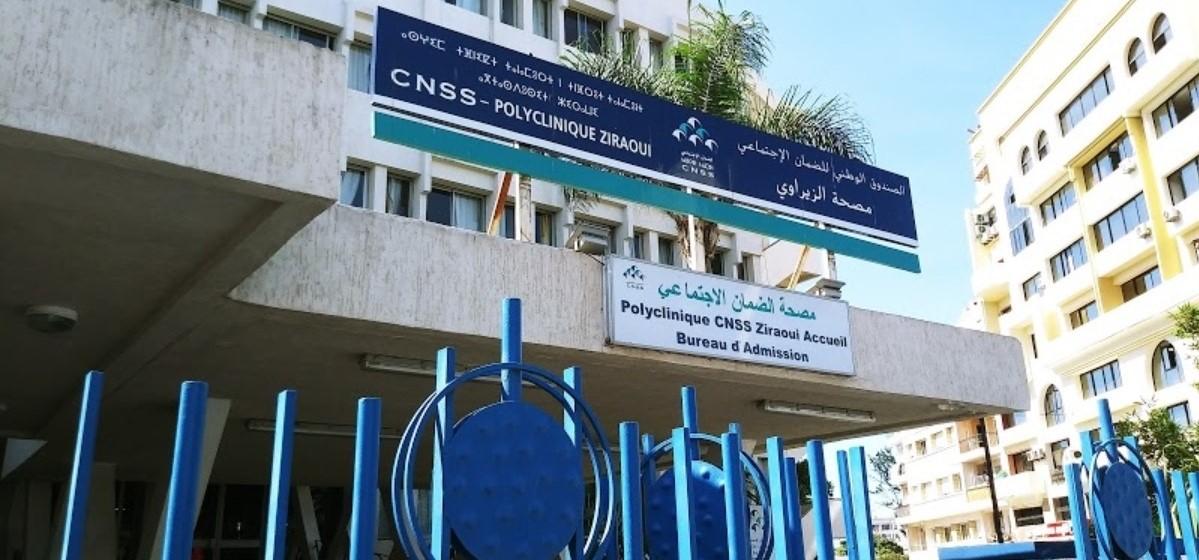 Covid-19 : une polyclinique CNSS mobilisée pour accueillir les cas contaminés