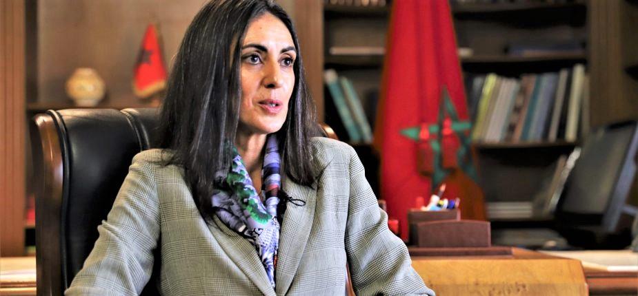 Nadia Fettah, Ministre du Tourisme, de l'Artisanat, du Transport Aérien, et de l'Economie sociale