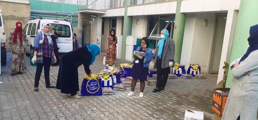 L'association Insaf au secours des démunis