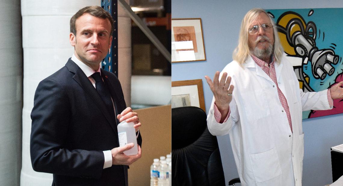 """Macron: """"Raoult est un grand scientifique et sa bi-thérapie doit être testée"""""""
