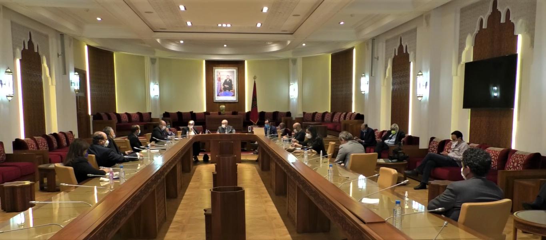 Réunion de la Commission parlementaire des affaires étrangères.