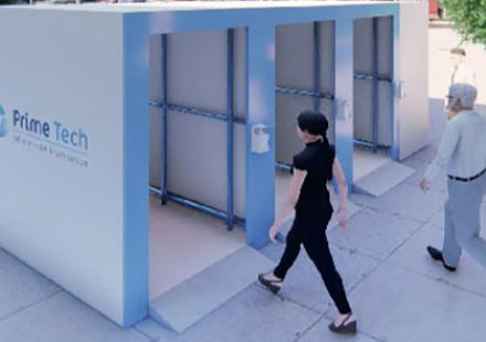 Une société développe une cabine de désinfection 100% marocaine