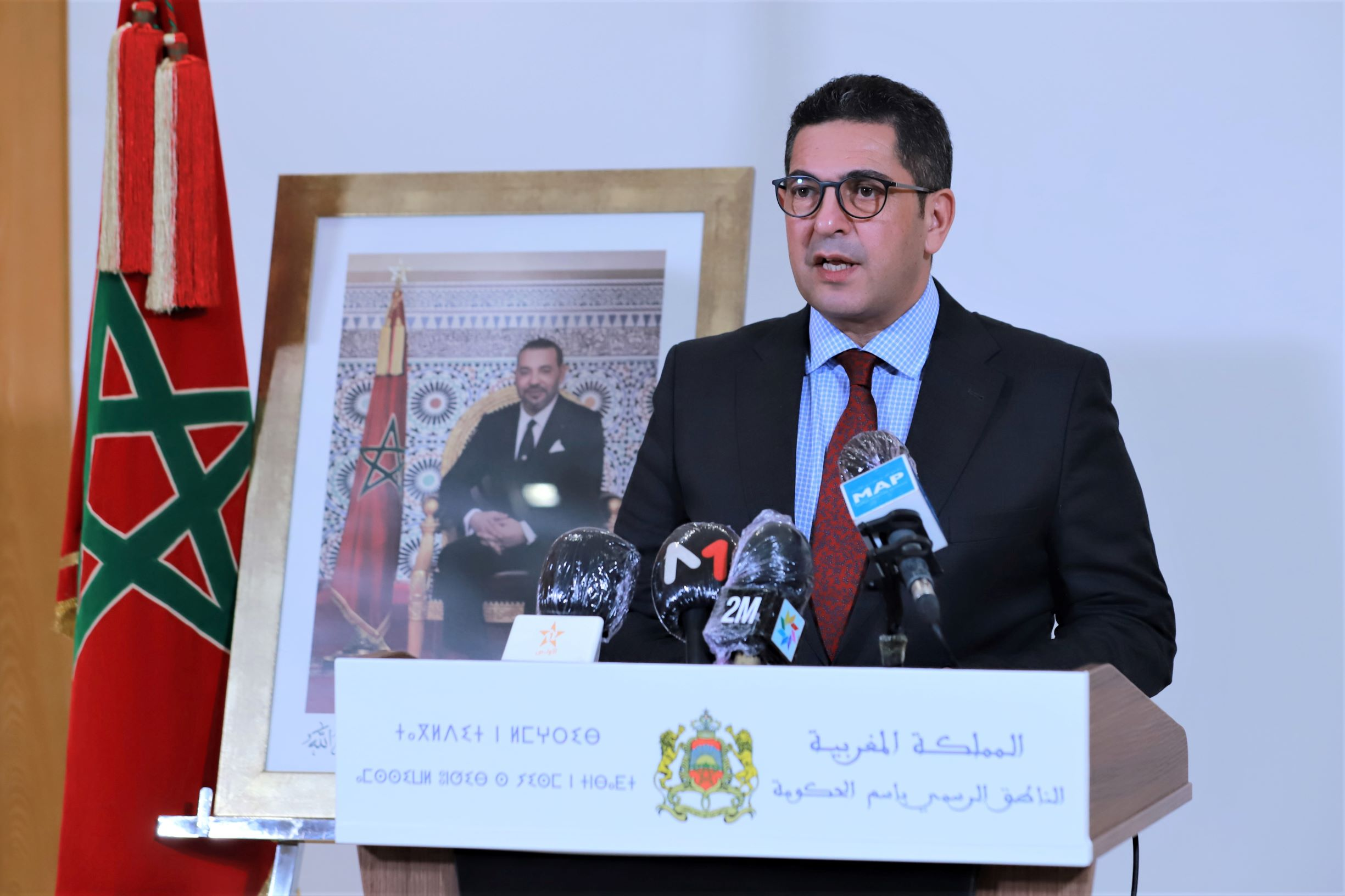 Saïd Amzazi, porte-parole du gouvernement
