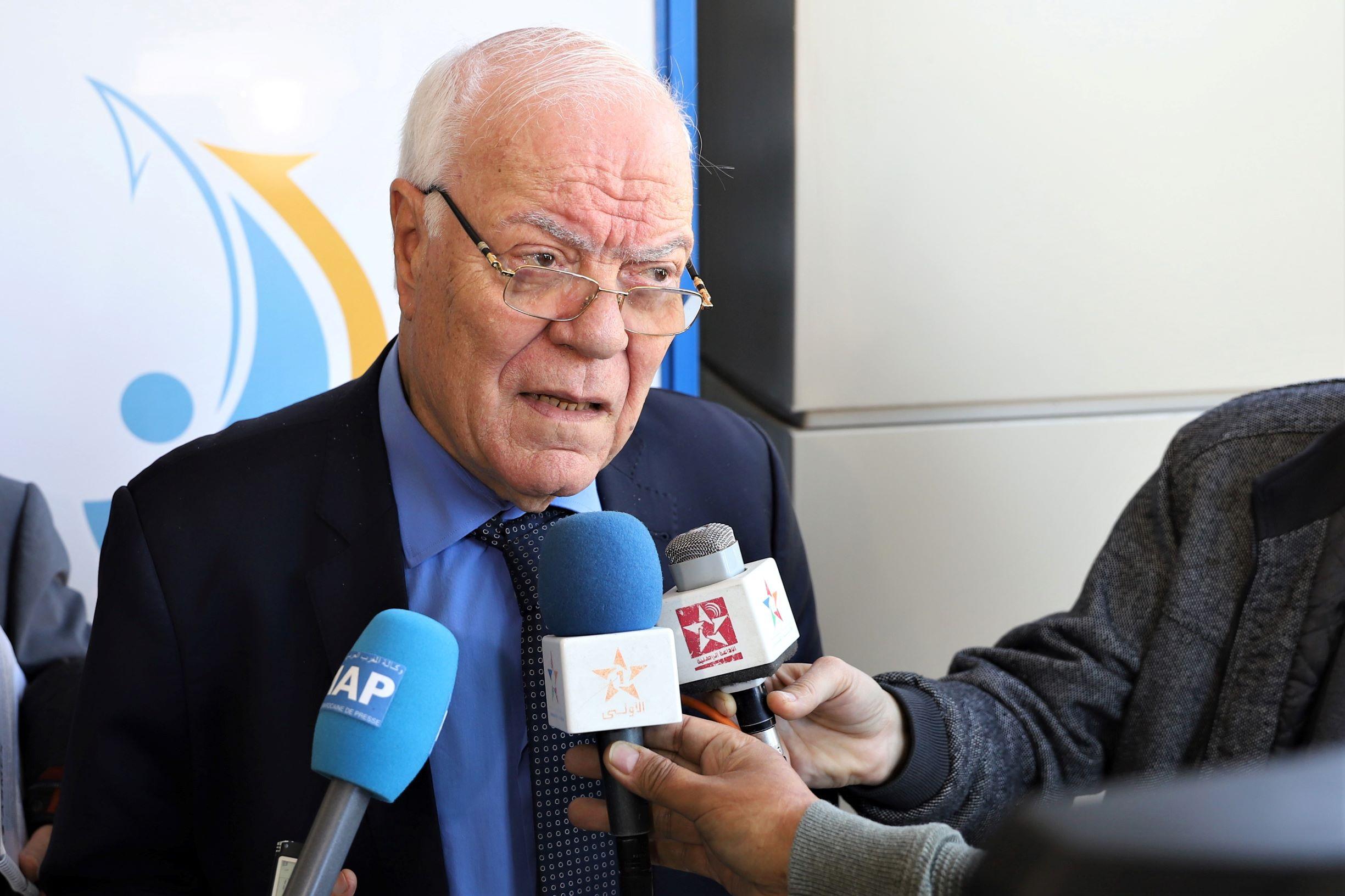 Hassan Sentissi Idrissi, président de l'ASMEX