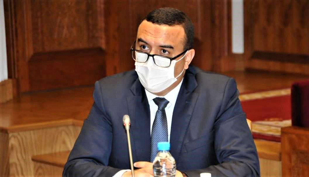 Mohamed Amekraz, ministre de l'Emploi et de la réinsertion professionnelle
