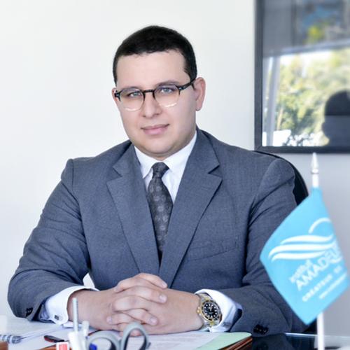 Brahim Fassi Fihri, président de l'Institut Amadeus