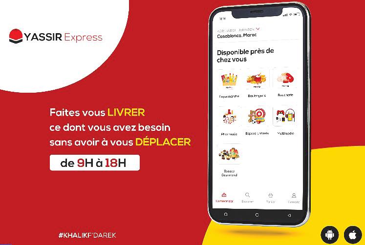 Yassir Express se charge des courses des Casablancais