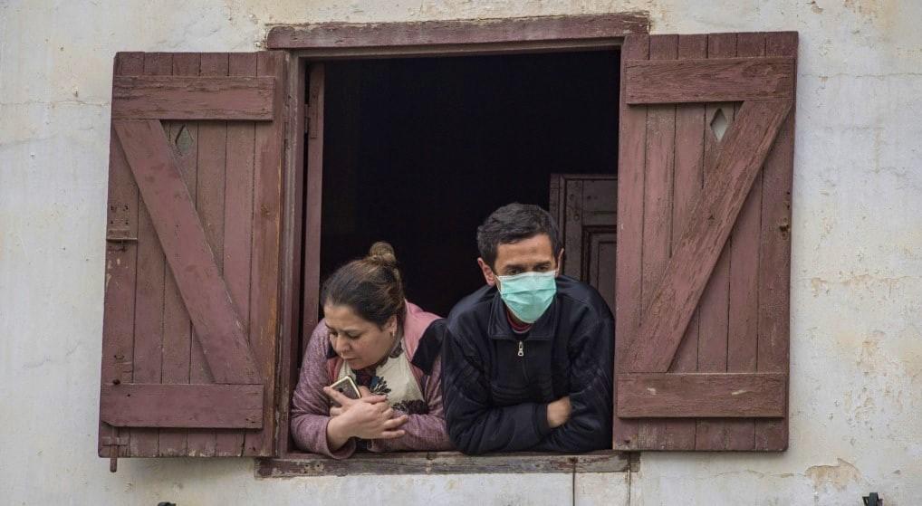 Des citoyens Marocains en confinement (Ph. AFP)