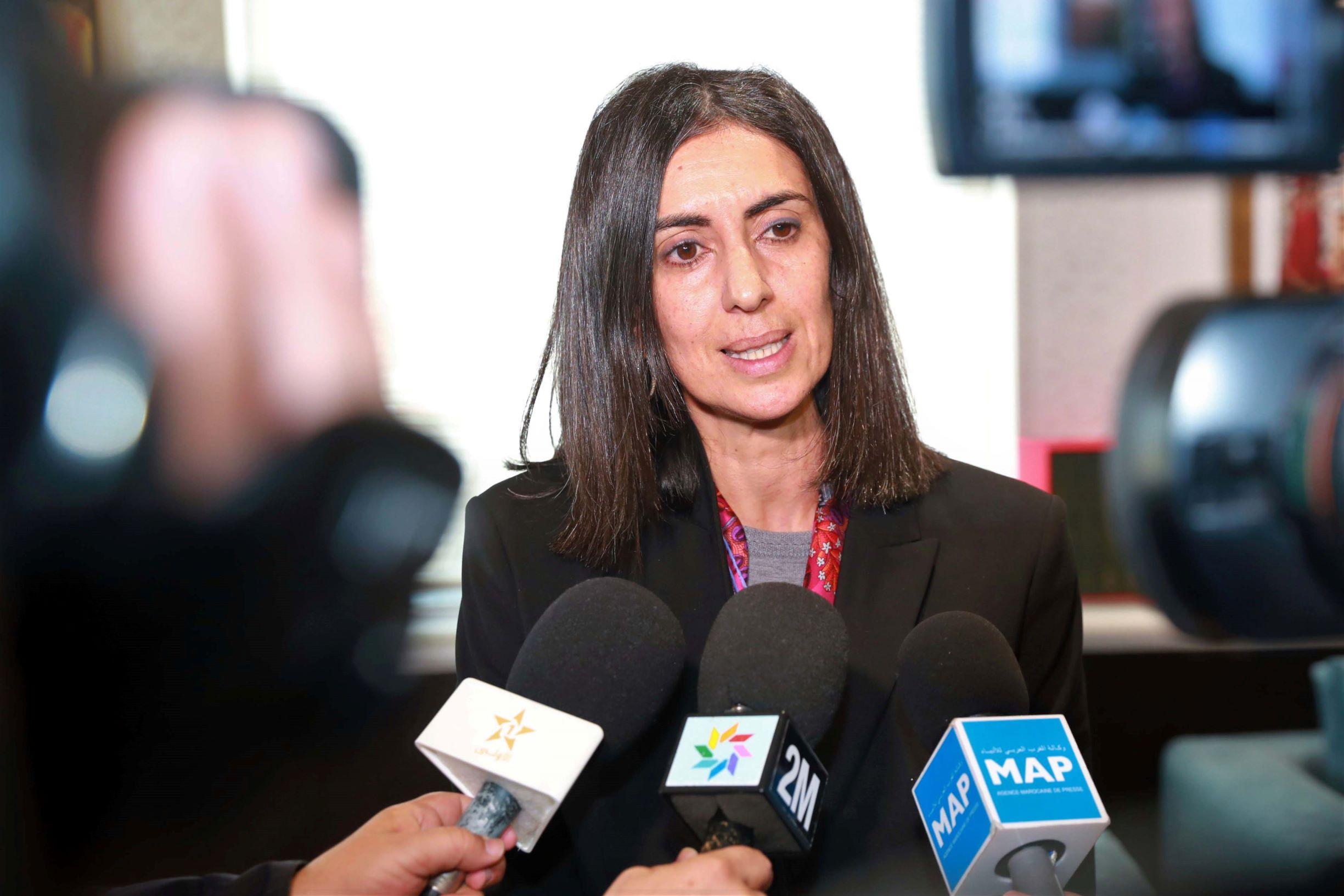 Nadia Fettah Alaoui, Ministre du tourisme