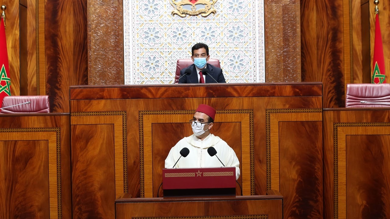 Mohamed Amekraz, ministre de l'Emploi et de l'insertion professionnelle.