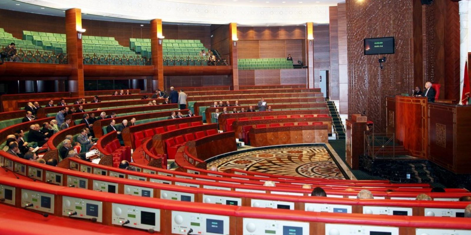 La Chambre des conseillers se prépare au vote électronique