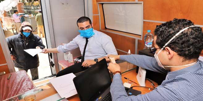Opérations de distribution des aides financières, au profit des Ramedistes